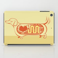 I heart sausage dogs iPad Case