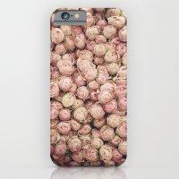 Flower Market 1 - Pink Roses  iPhone 6 Slim Case