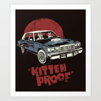 Kitteh Proof Art Print