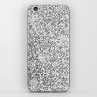 Metallic (Silver) iPhone & iPod Skin