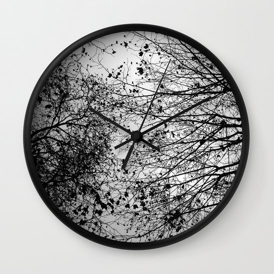 Branches & Leaves Wall Clock