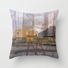 Zona Abbandonata Della S… Throw Pillow