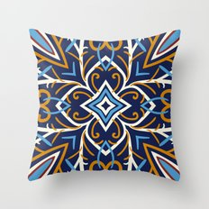 Decorative Floral Patter… Throw Pillow