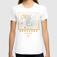 american spirit Womens Fitted Tee White SMALL