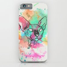 Watercolor Sphynx iPhone 6 Slim Case