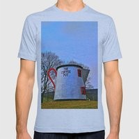 The Coffee Pot Mens Fitted Tee Athletic Blue SMALL