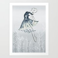 nightswimming Art Print