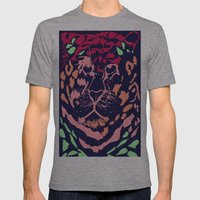 Tiger Mens Fitted Tee Athletic Grey SMALL