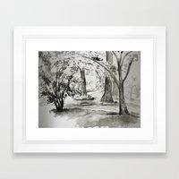 Spring Morning. Framed Art Print