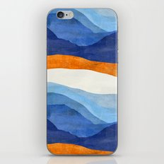 Mountains in the Morning iPhone & iPod Skin