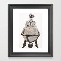 Charles Chaplin The Grea… Framed Art Print