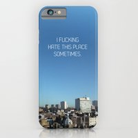 iPhone & iPod Case featuring Hate by Graham Ferguson