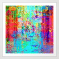 Equations involving a consequence of sequences. 11 Art Print