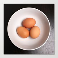 Eggs Canvas Print