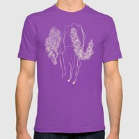 White Horse Mens Fitted Tee Ultraviolet SMALL