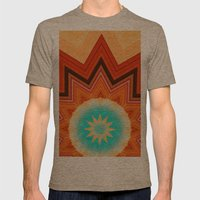 Old Soul Mens Fitted Tee Tri-Coffee SMALL