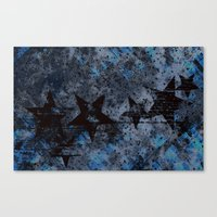 Starry Right Canvas Print
