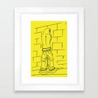 meando Framed Art Print