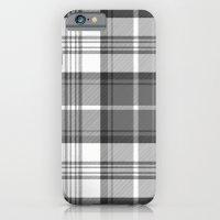 Black & White Tartan iPhone 6 Slim Case