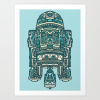 Tattoo D-2 Art Print