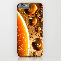 iPhone & iPod Case featuring Oil And Water Don't Mix by TDSWHITE