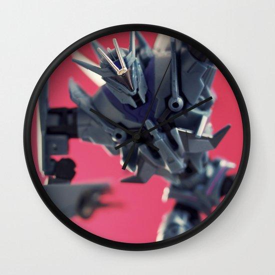 Soundwave Wall Clock