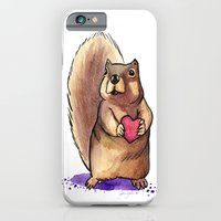 Squirrel Loves You iPhone 6 Slim Case