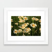 Field of Happiness Framed Art Print