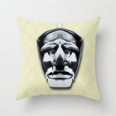 mamuthones Throw Pillow