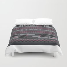 Old School Sweater Duvet Cover