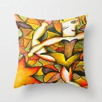 Dancer- Change Of Season… Throw Pillow