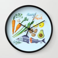 Always Fresh Wall Clock