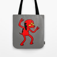 Satan's Little Helper Tote Bag