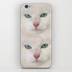WHITE DELIGHT iPhone & iPod Skin