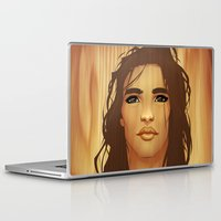 native american Laptop & iPad Skins featuring Native American by Kimball Gray