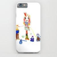 Girly Travel iPhone 6 Slim Case