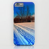 Traces On A Winter Hikin… iPhone 6 Slim Case