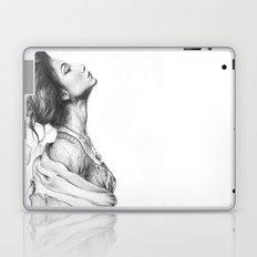 Pretty Lady Illustration Laptop & iPad Skin