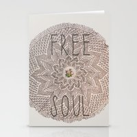 Free Soul Stationery Cards