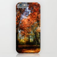 red fall iPhone 6 Slim Case