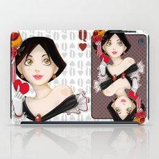 Queen of hearts  iPad Case