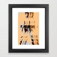 FPJ Agent Orange Framed Art Print