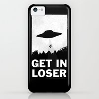iPhone 5c Case featuring Get In Loser by moop