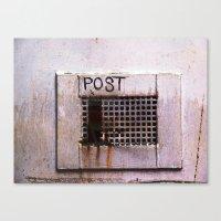 Mail Box Canvas Print