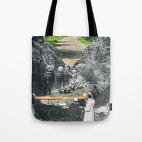 Don't Be Afraid, Expand … Tote Bag