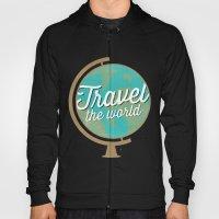 Travel The World - Globe… Hoody