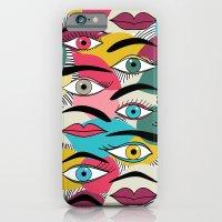 Eye, EyeBrow iPhone 6 Slim Case