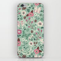Garden Butterflies  iPhone & iPod Skin