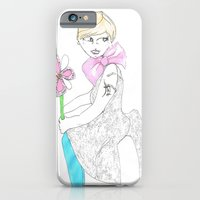 Girl With Big Bow iPhone 6 Slim Case