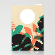 Jungle Sun #1 Stationery Cards